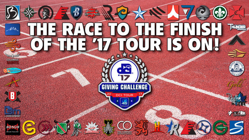 DCI Giving Challenge shines fundraising spotlight on the teams of Marching Music's Major League