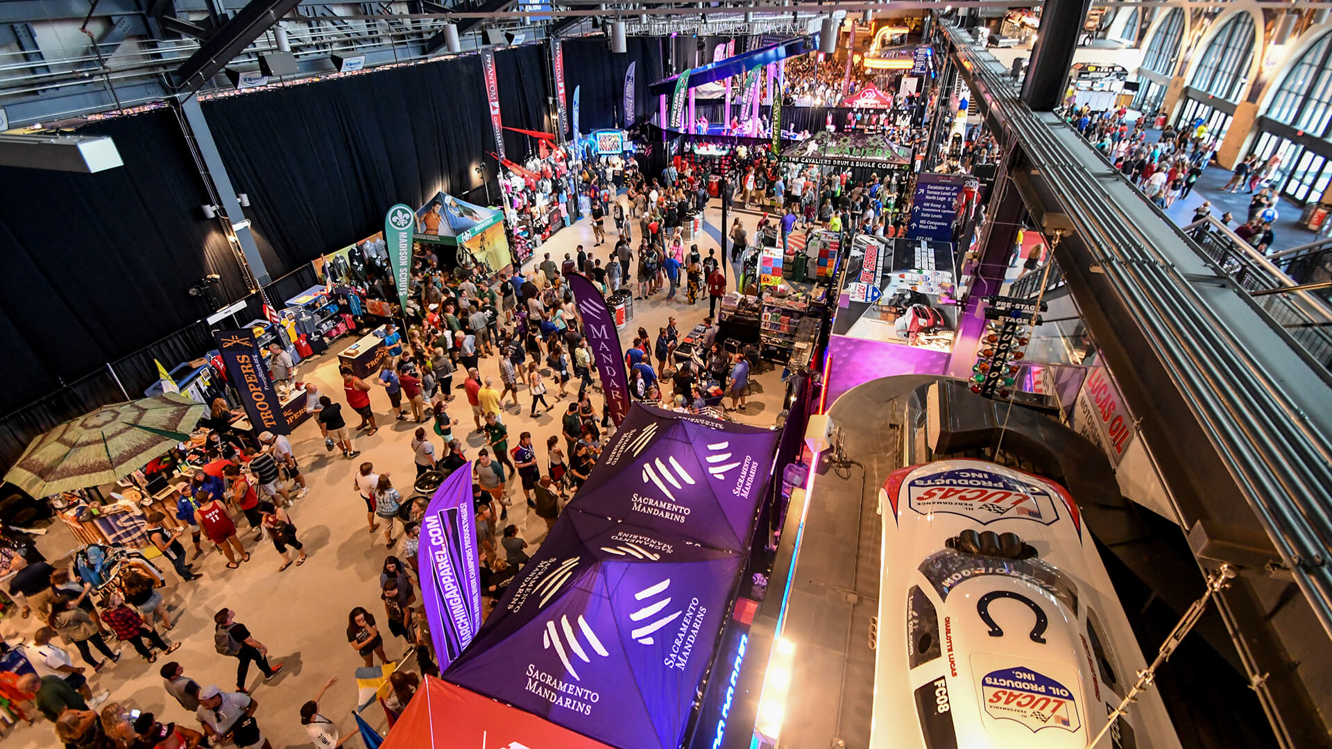 Lucas Oil Stadium Festival Marketplace