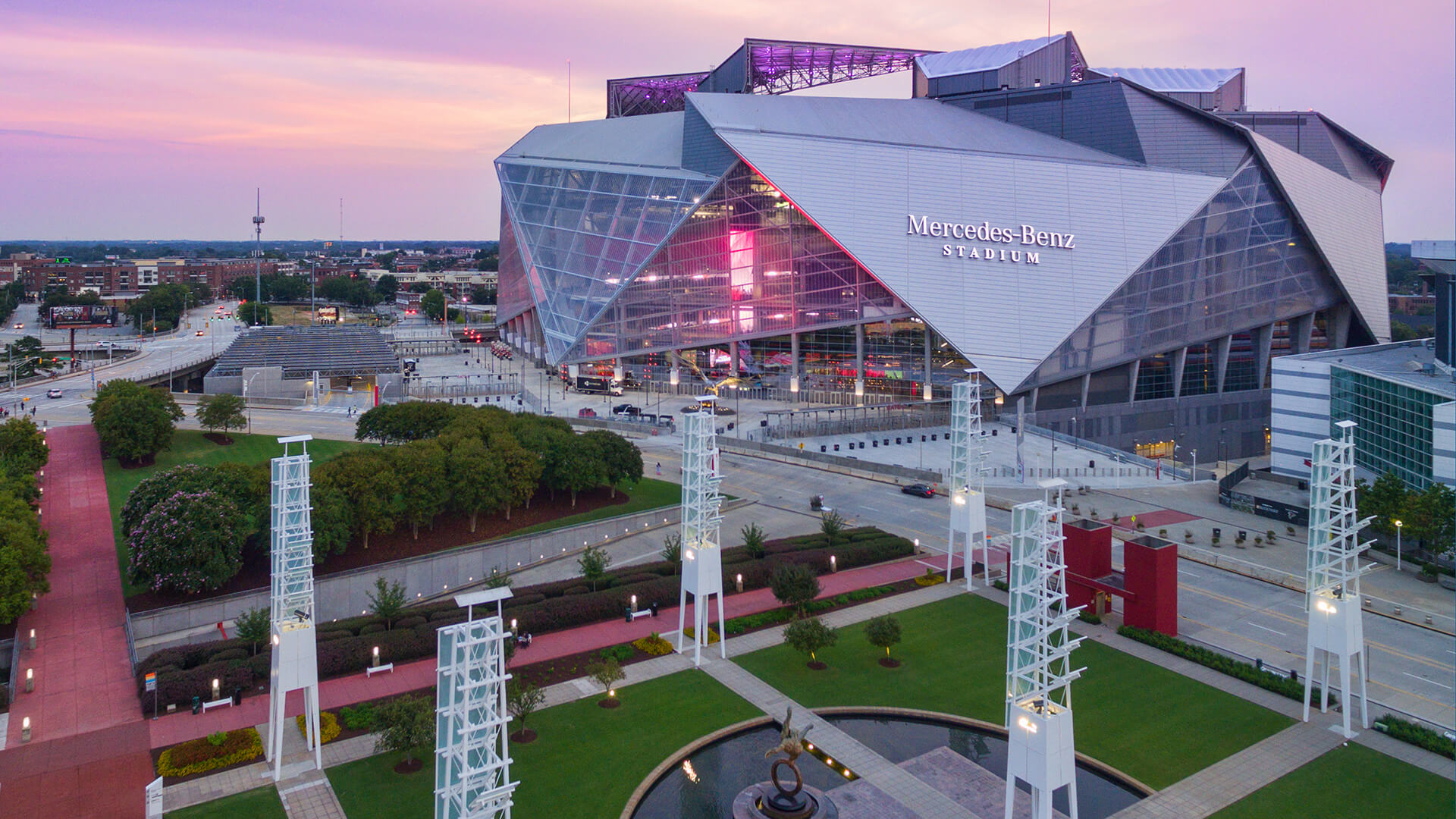 6 things to know about Mercedes-Benz Stadium