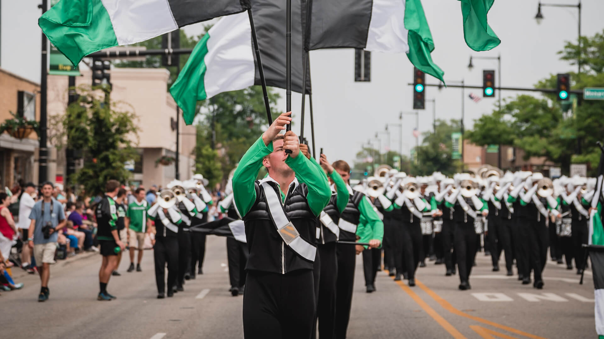 Where to find drum corps on the 4th of July