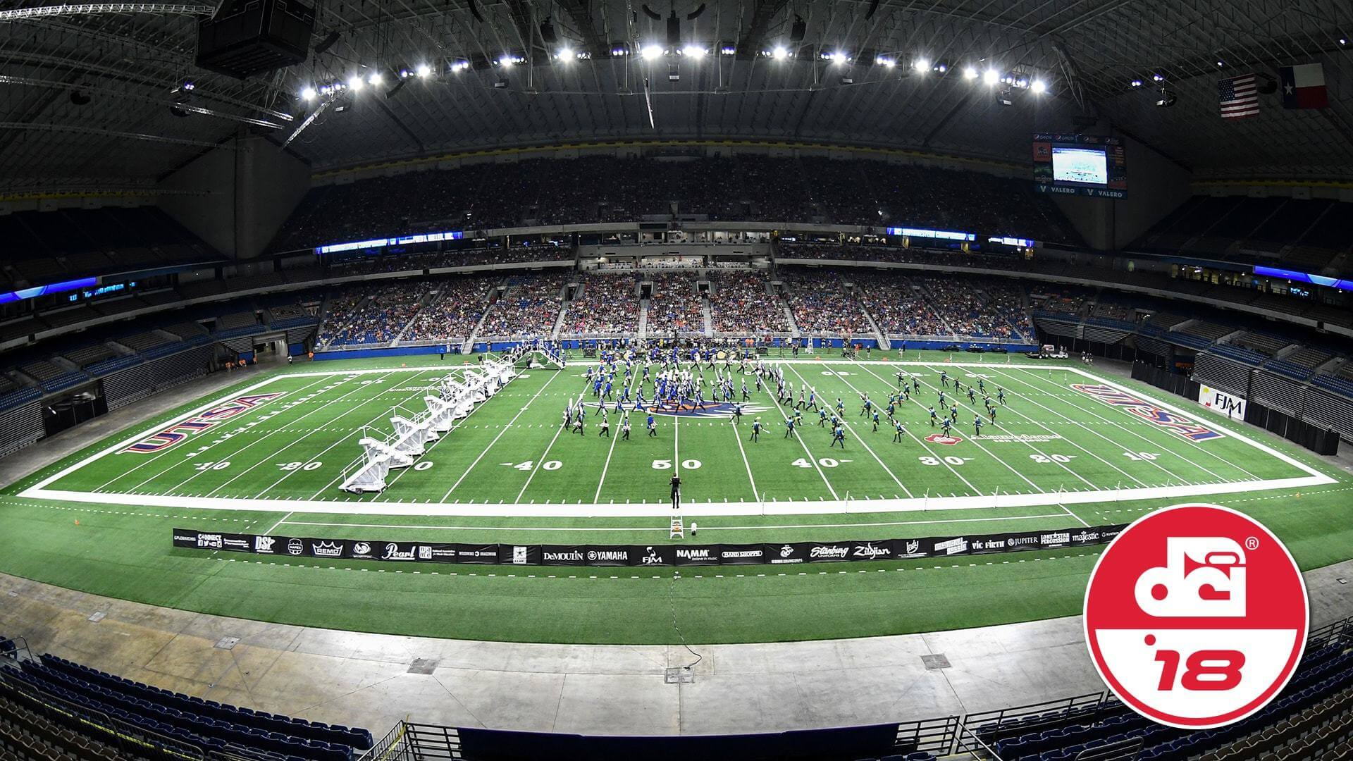 the recently rennovated alamodome in san antonio will see all 24 of dci s world cl corps perform on july 21
