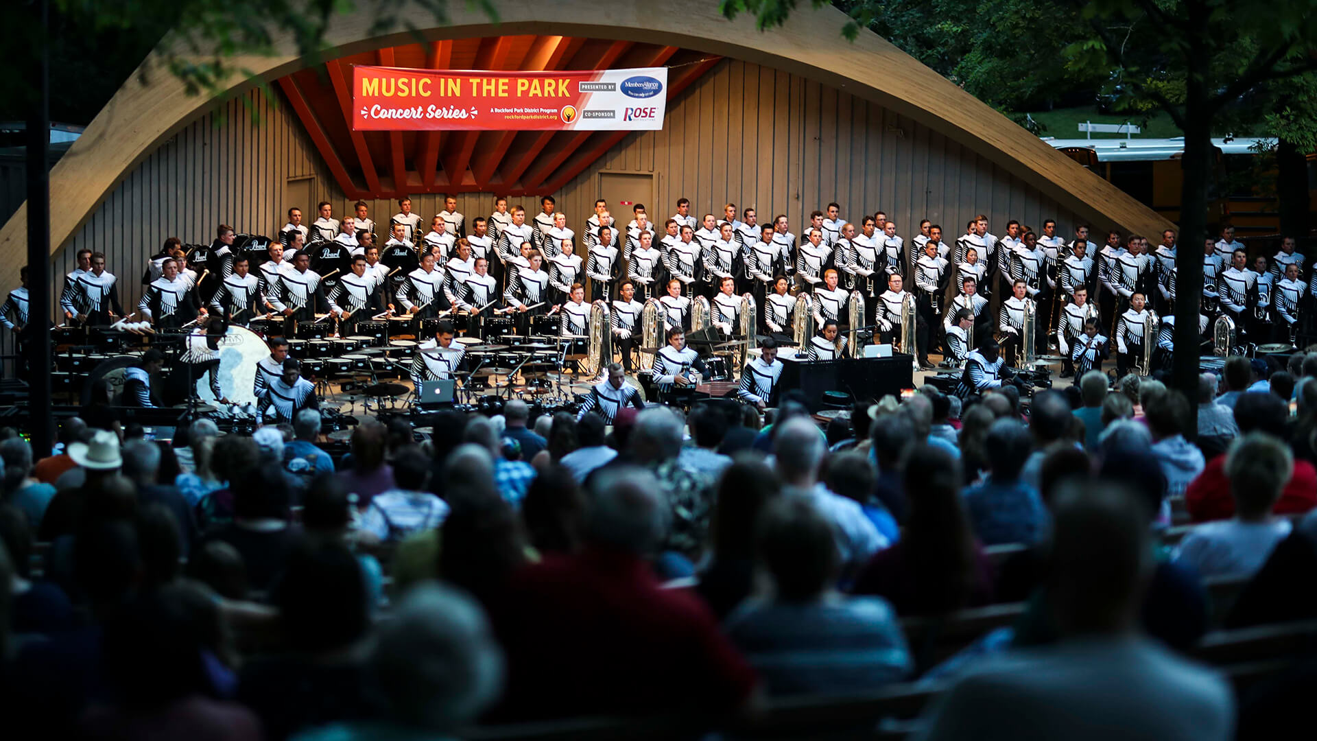 "Regiment returns home for annual ""Music in the Park"" concert"
