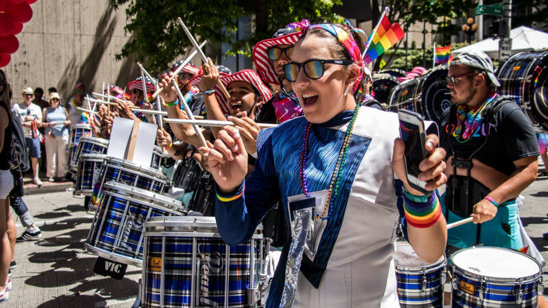 Cascades take pride in Pride 2017