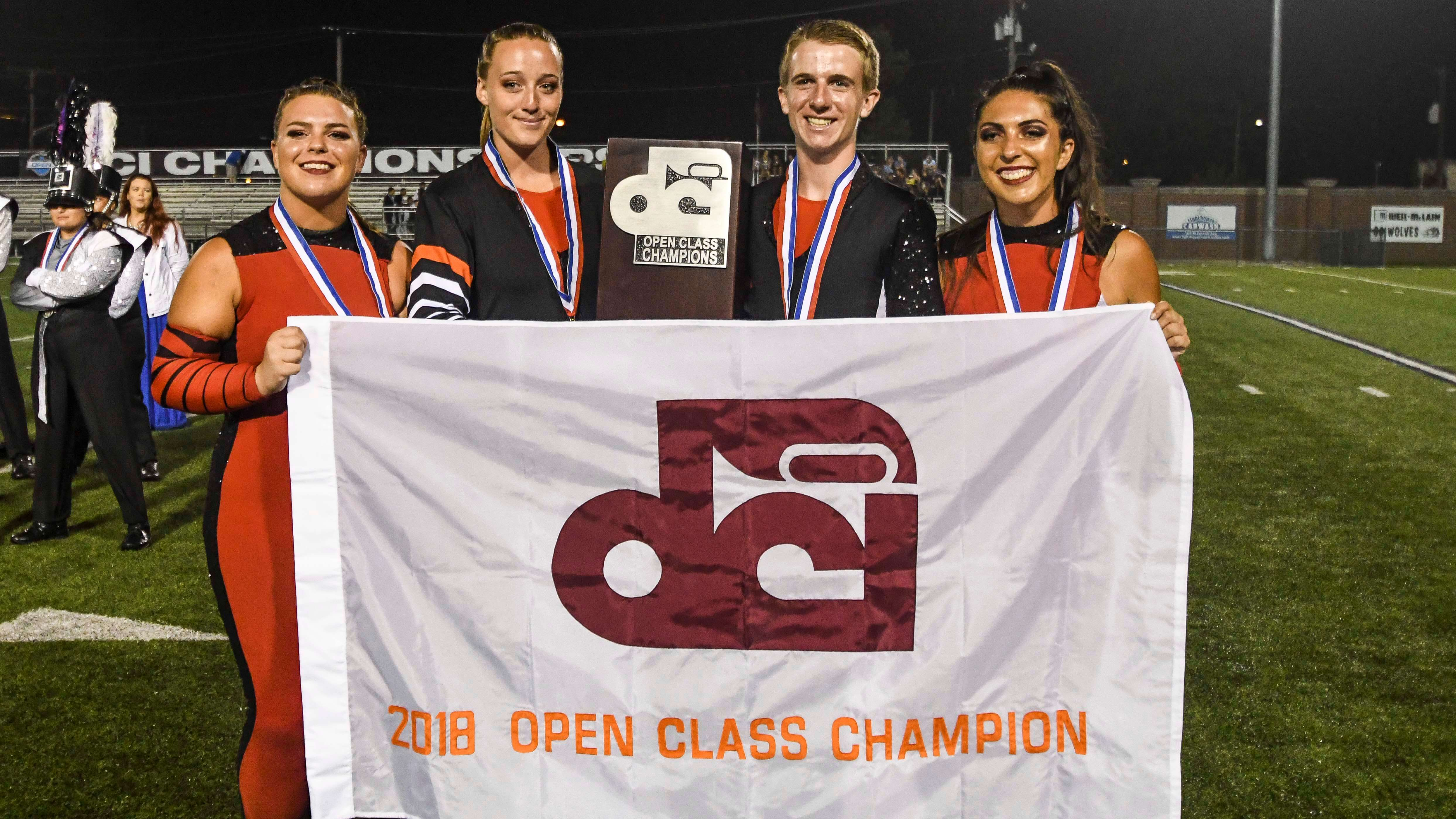 Vanguard Cadets go back-to-back with Open Class gold