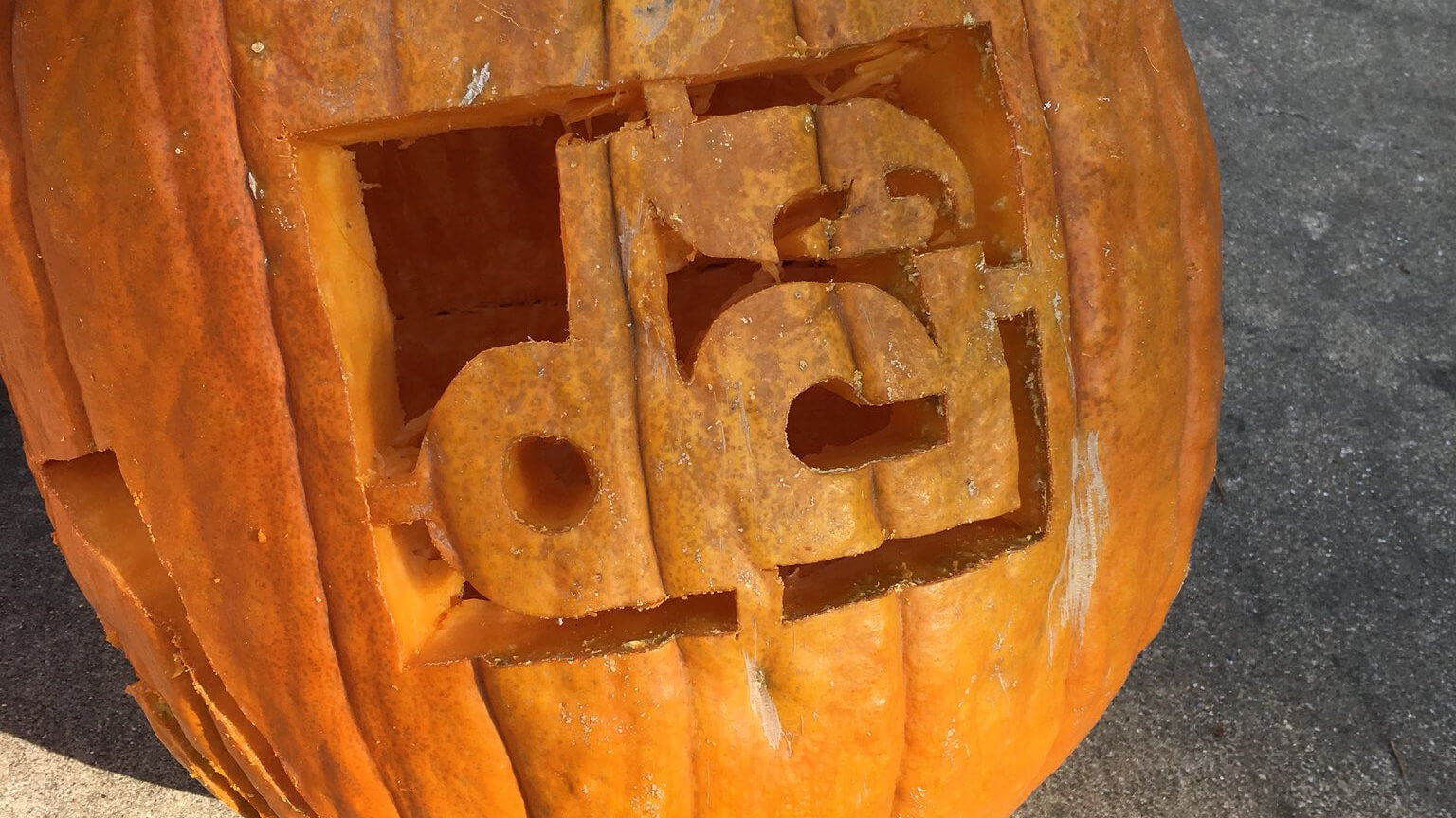 Drum corps pumpkins