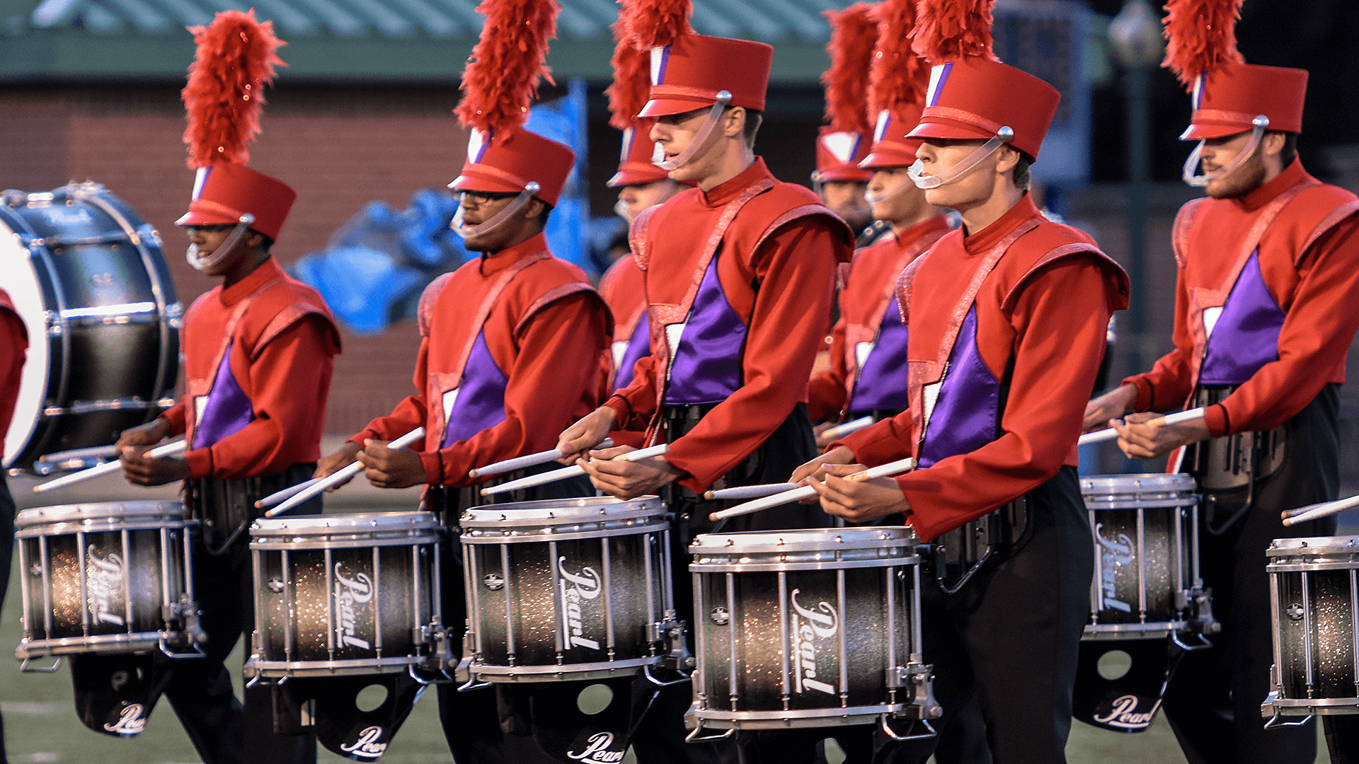 Drums Across Cajun Field
