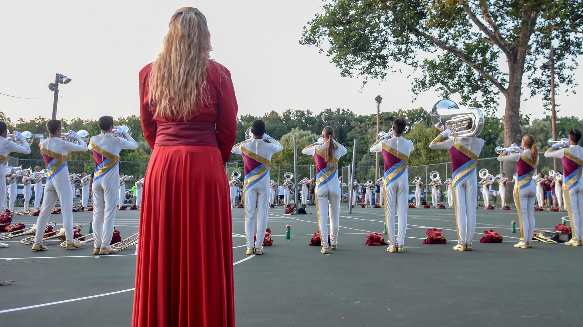 Cadets Allentown Warmup