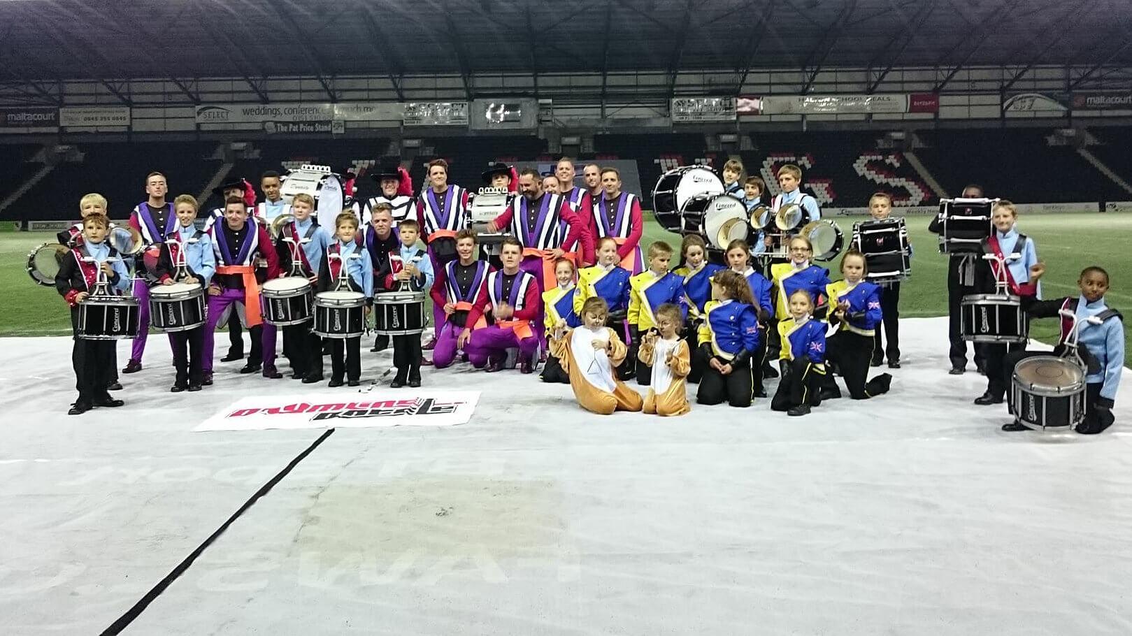 DrumLine Battle debuts at British Drum Corps Championships