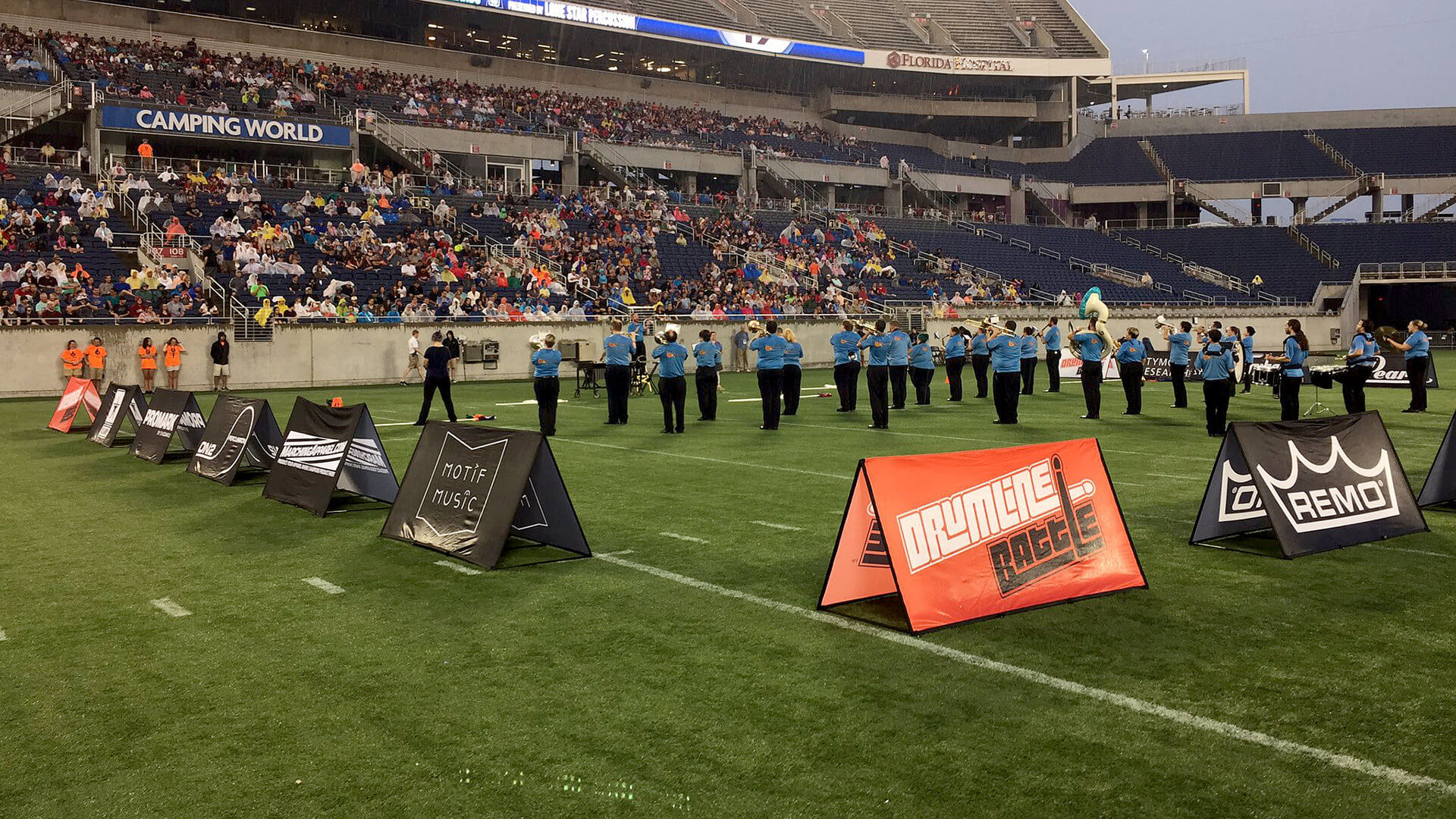 Pair of local SoundSport teams kick off DCI's return to Orlando