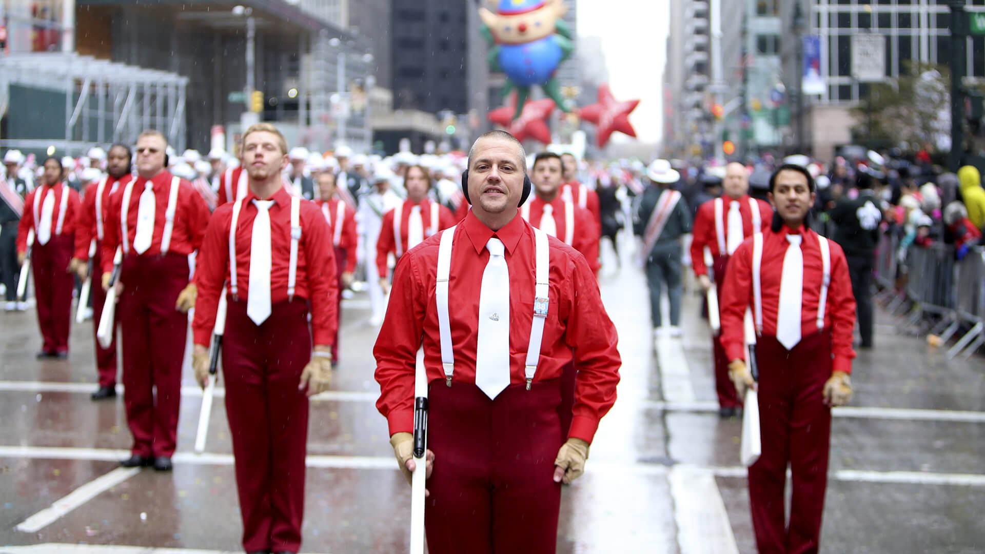 VIDEO: Drum corps in the Macy's Thanksgiving Day Parade