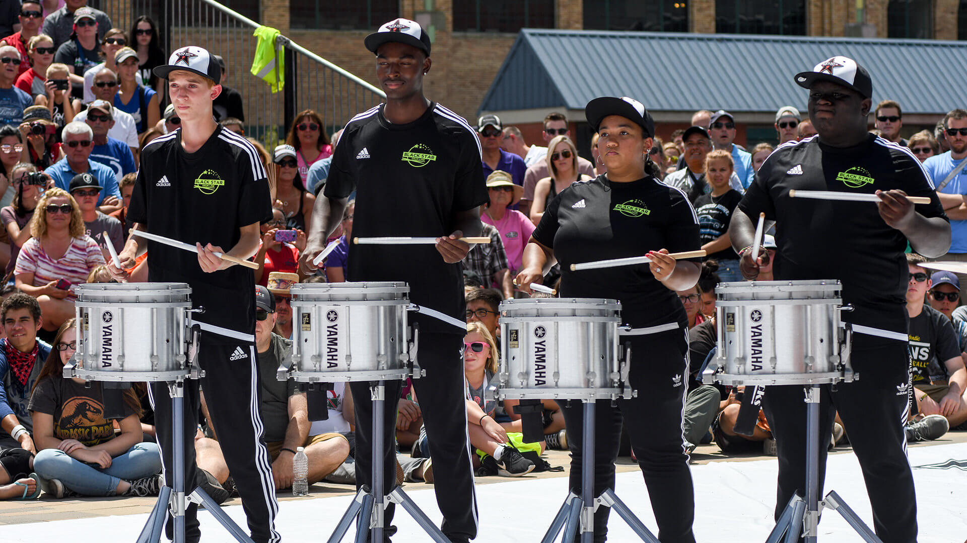 DrumLine Battle: Black Star vs. Raiders