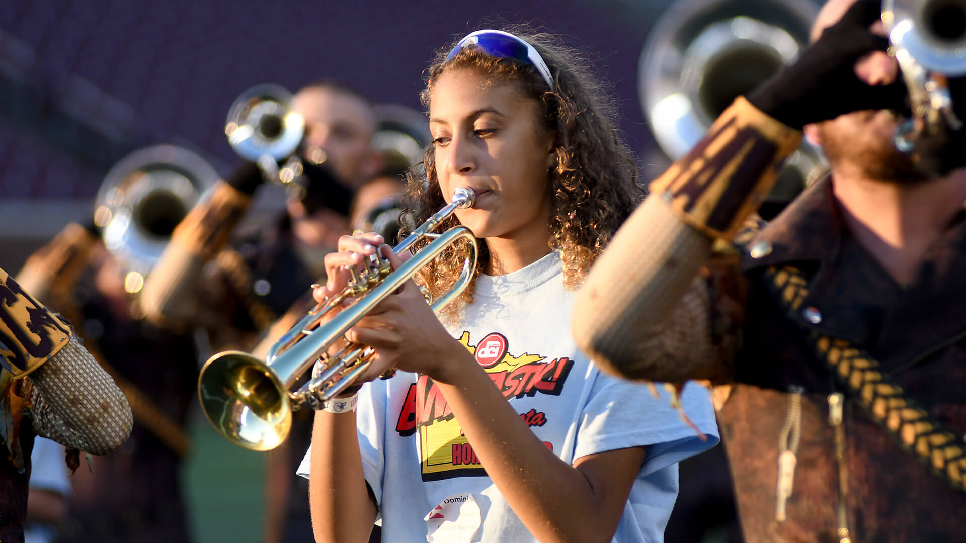 BANDtastic experience inspires students to play on