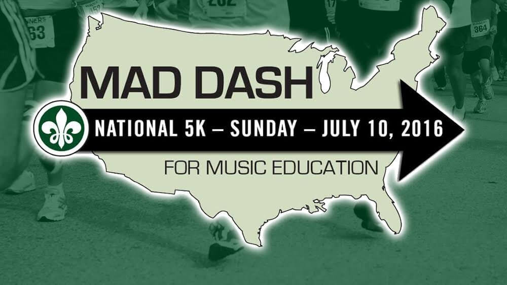 MAD DASH will spotlight the marching arts as a healthy youth activity