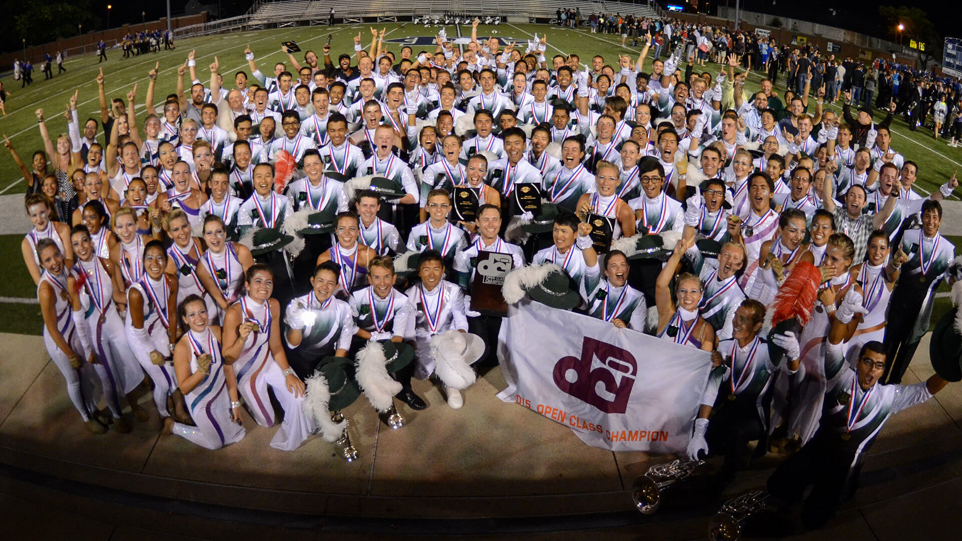 Vanguard Cadets 'On Cloud Nine' after Open Class Championship win