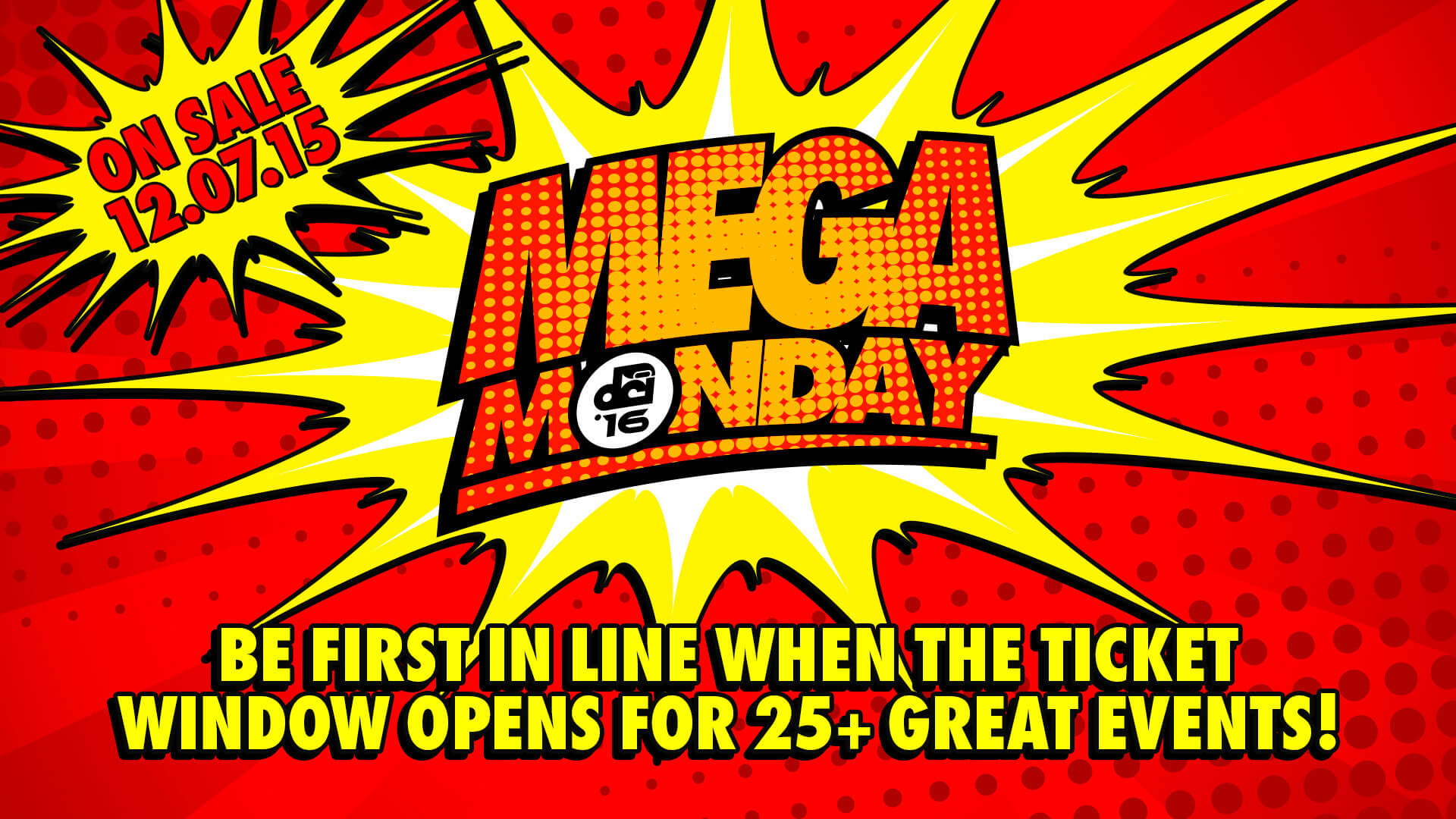 Mega Monday is coming ...