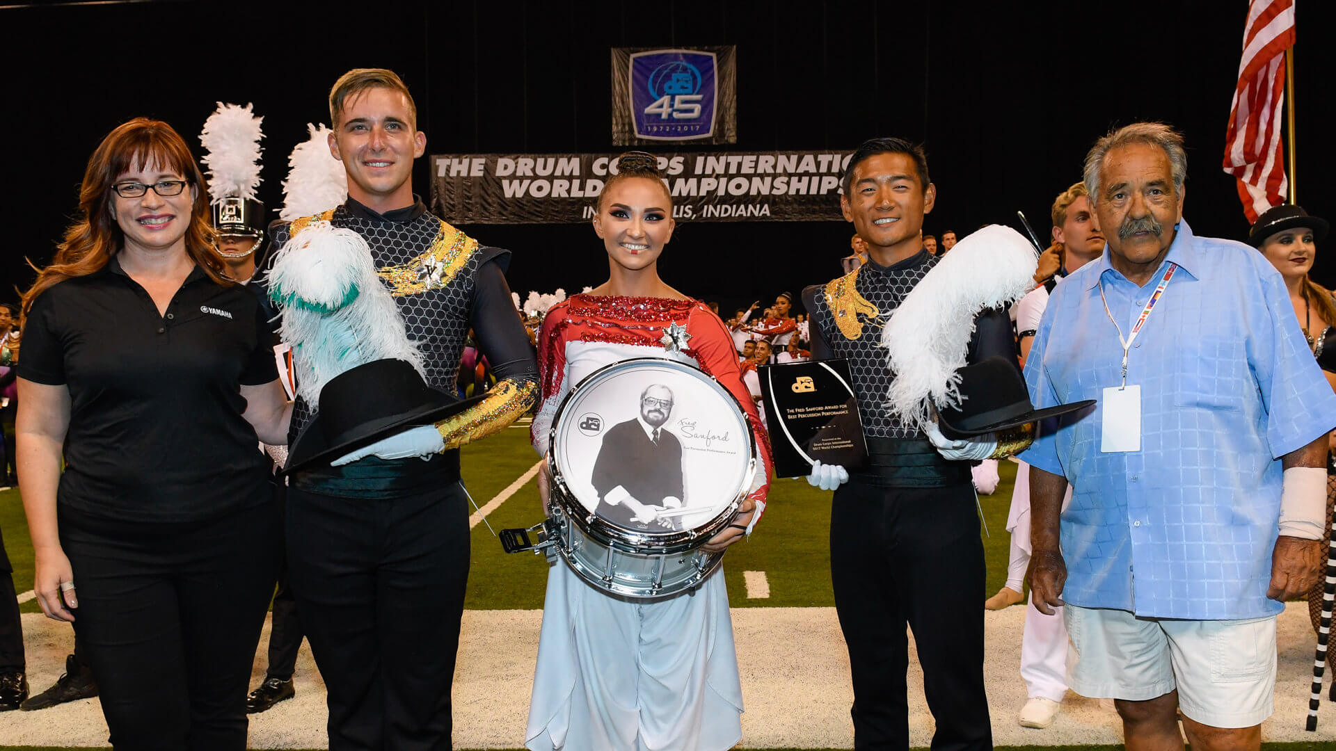 2017 DCI World Championship caption award winners
