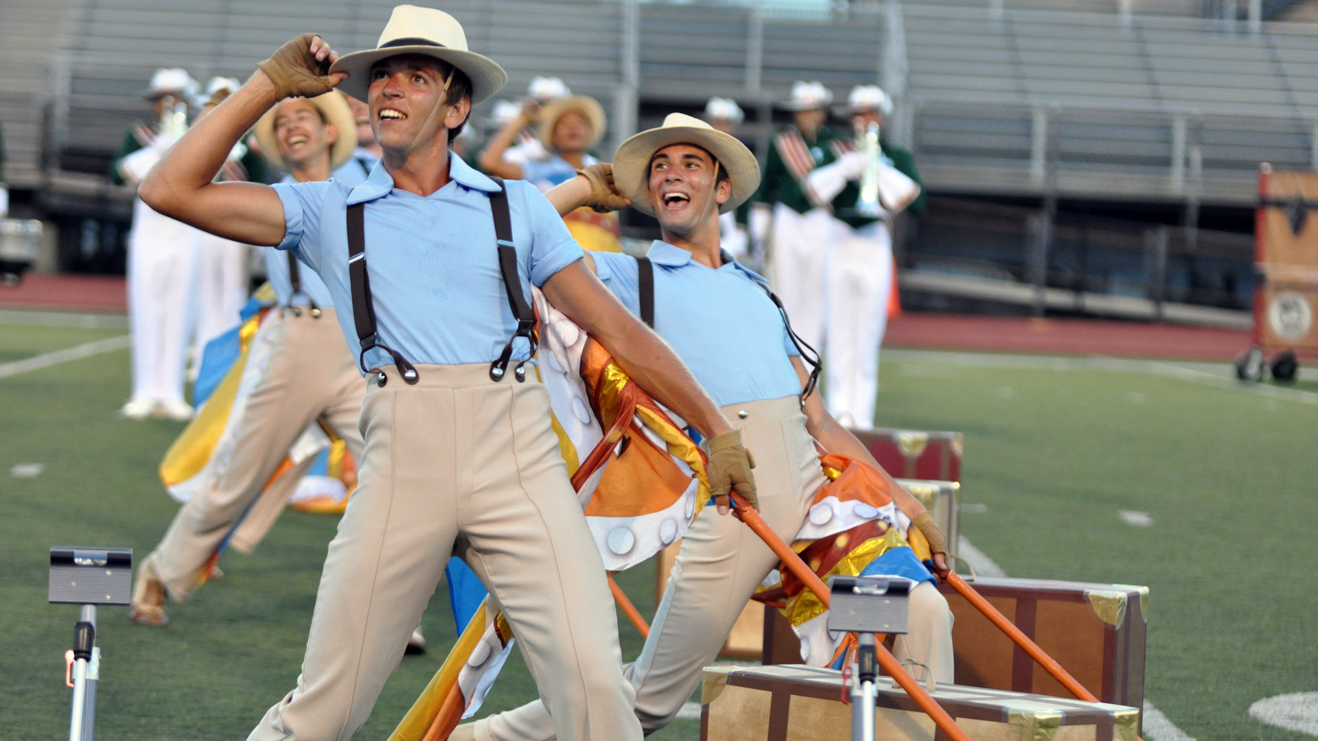 Photos: Troopers and Madison Scouts preview