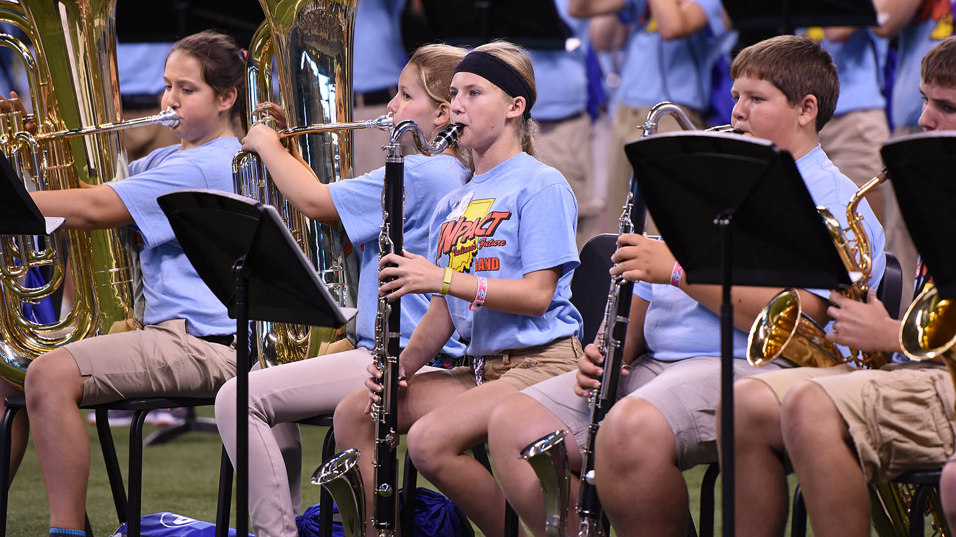 Four years in, INpact Band continues to inspire middle school musicians