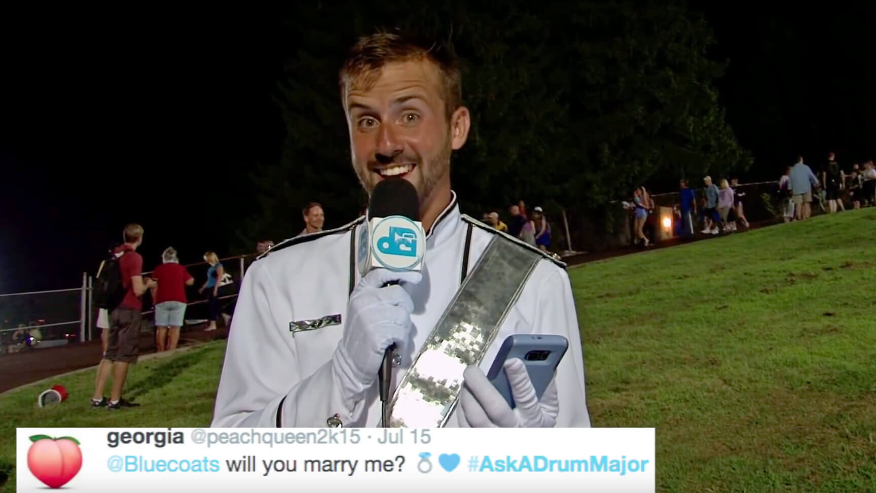DCI drum majors asked and answered