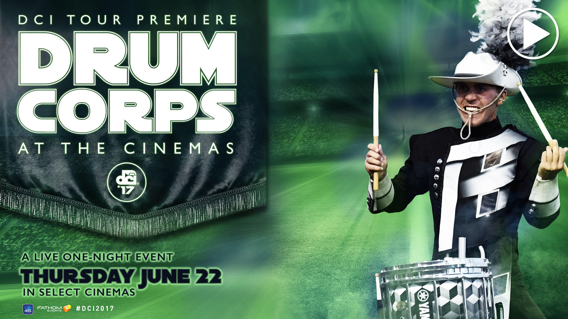 Watch the DCI Tour Premiere movie trailer