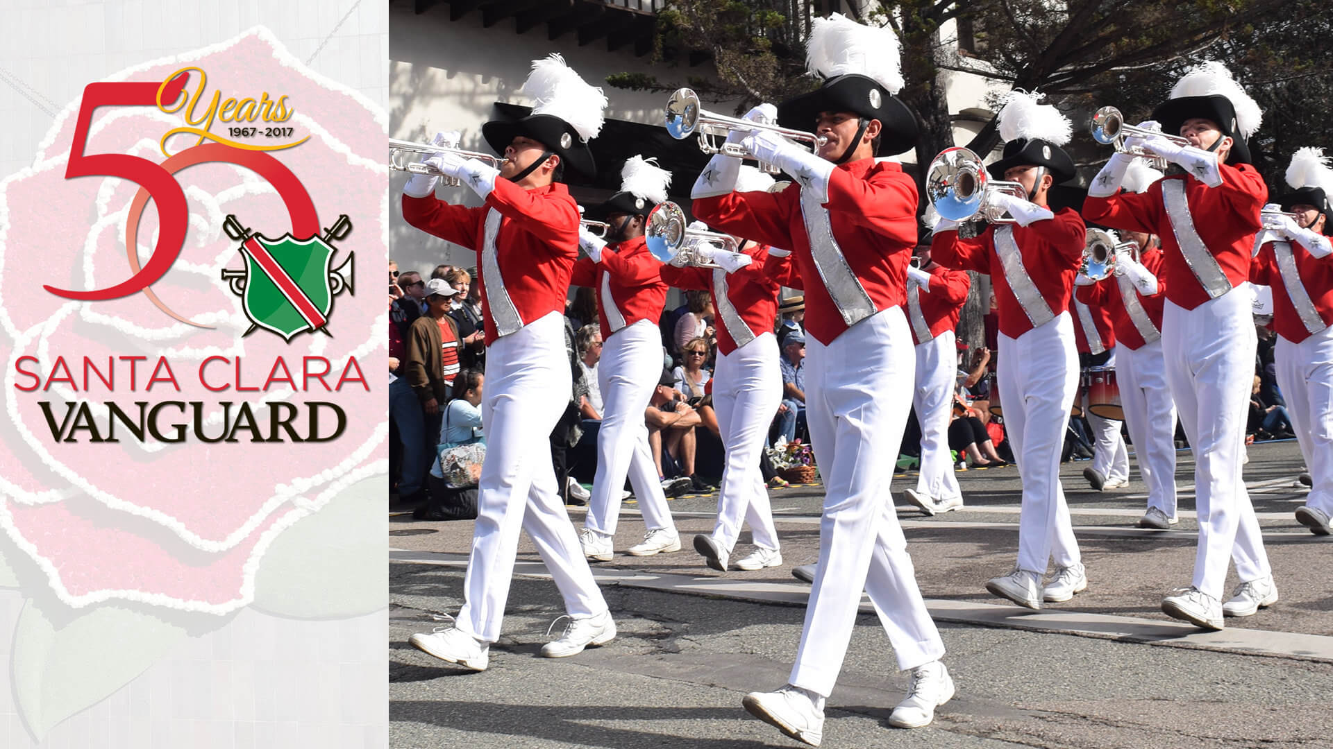 Everything's coming up roses for Santa Clara Vanguard's golden