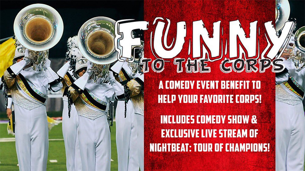 Comedians come out to help raise money for drum corps