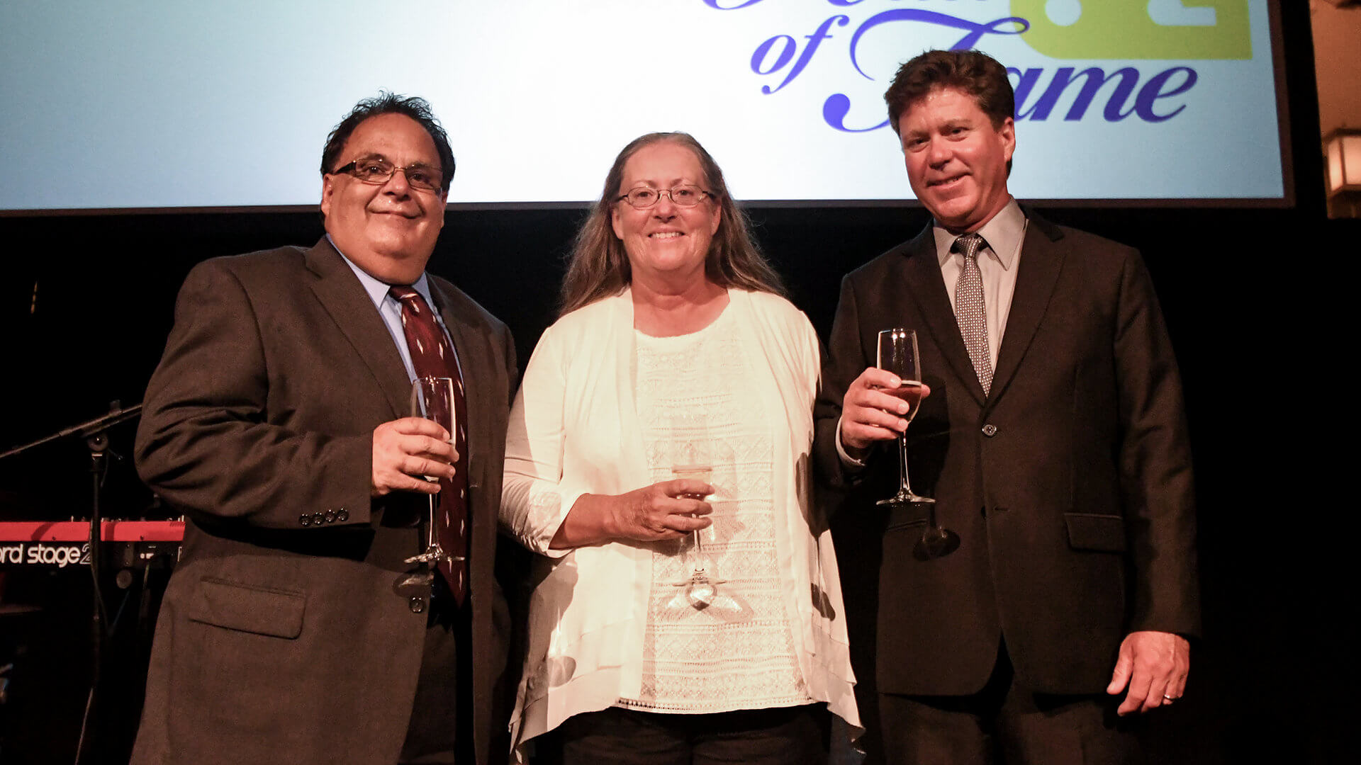 Newest Hall of Famers inducted in special ceremony