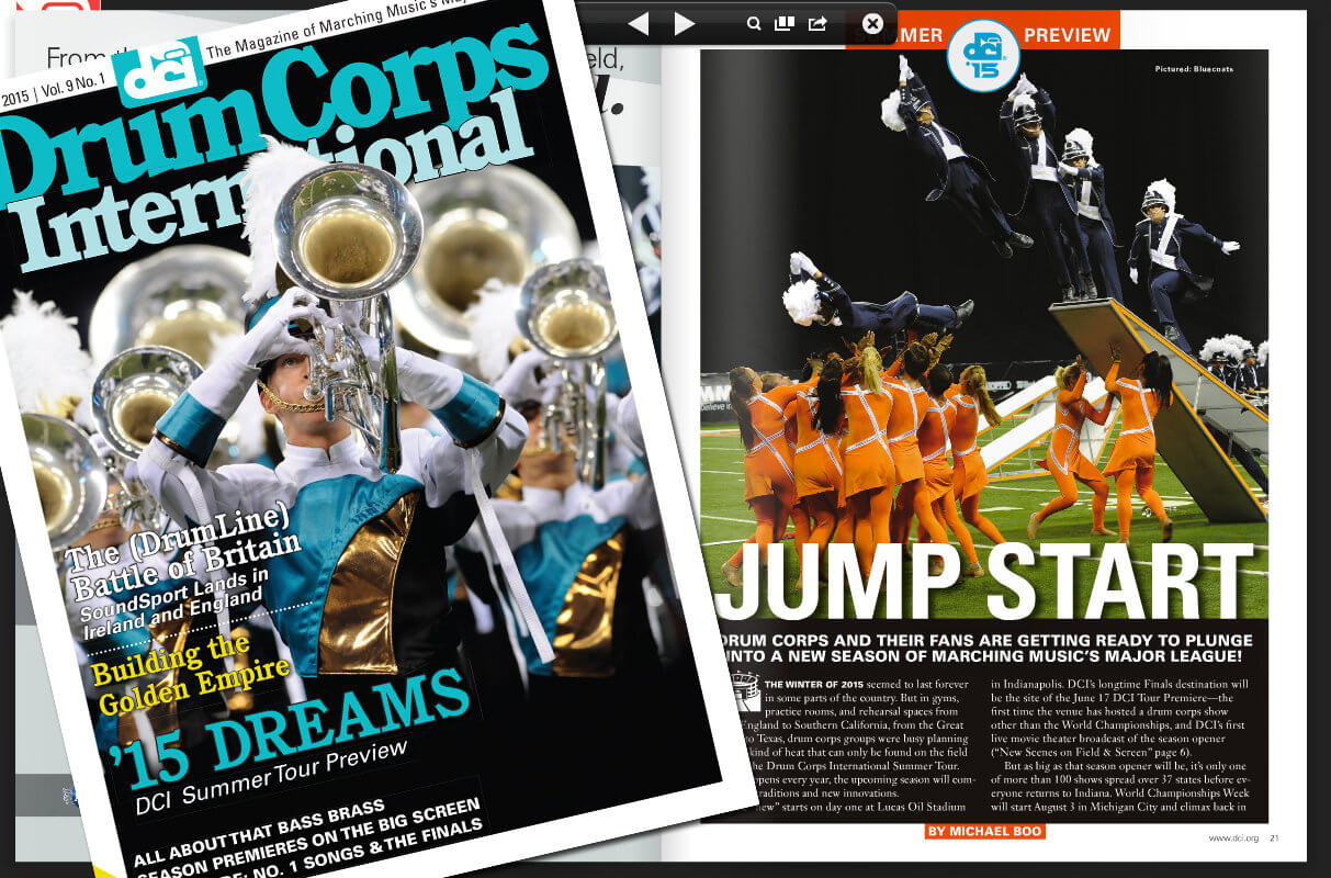 Drum Corps International Magazine, Summer 2015