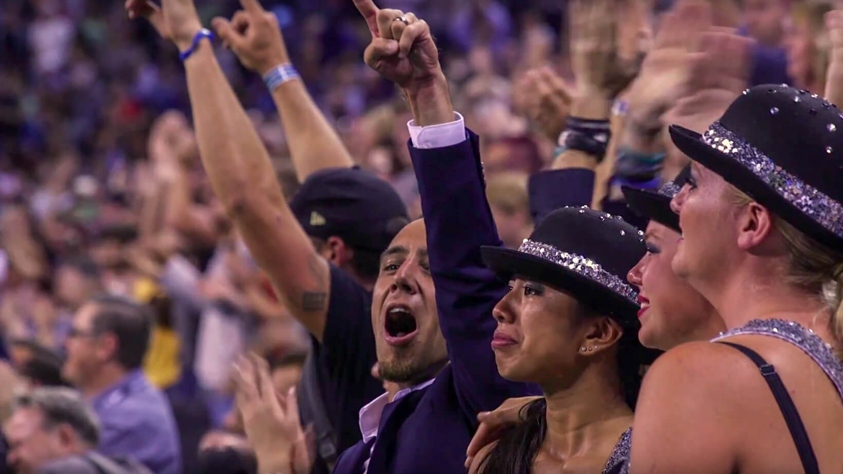 Drum corps' biggest cheerleaders