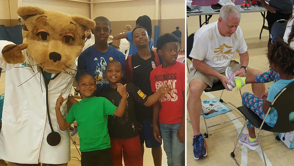 CrownCARES aims to encourage philanthropy in the corps community